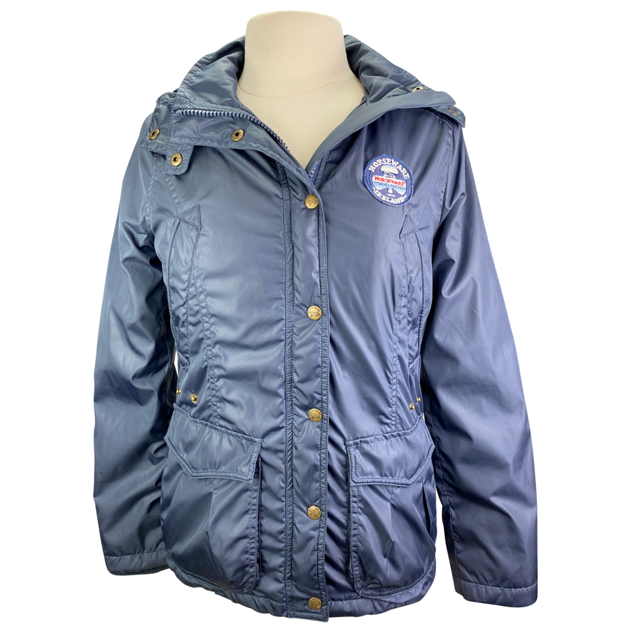 Horseware Fleece Lined Jacket in Navy