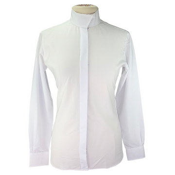Essex Classics Coolmax Performance Collection in White/Rainbow Collar