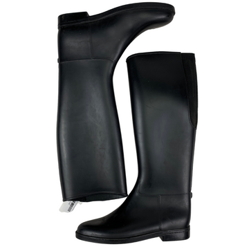 EquiStar Cadet Flex II Rubber Boots in Black - Women's 10