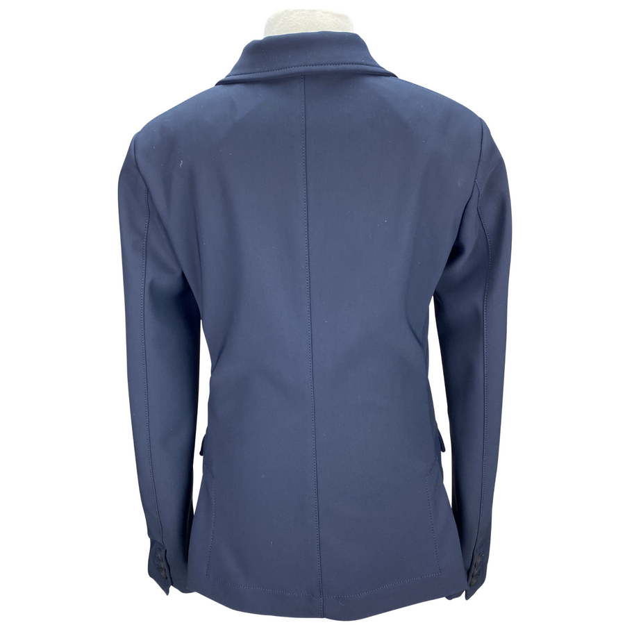 Back of Cavalleria Toscana Competition Jacket in Navy