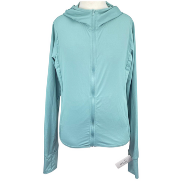 Love Tree Zip-Up Jacket in Baby Blue