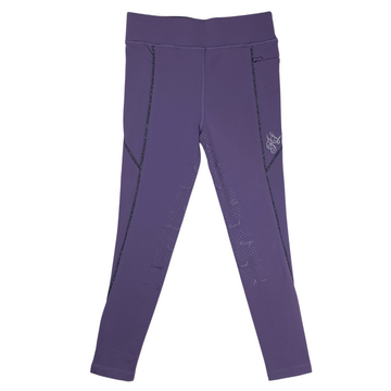 Front of Kingsland 'Kemmie' Full Grip Tights in Lilac