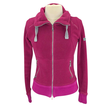 Pikeur Aldina Fleece Jacket in Pink
