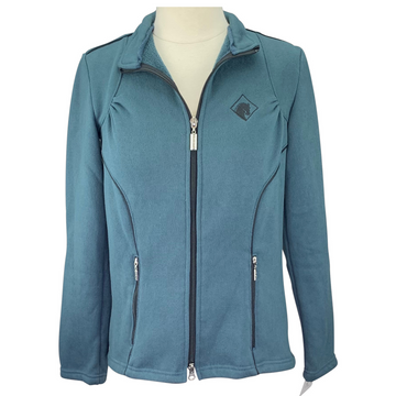 Arista Fleece Lined Jacket in Blue-Grey