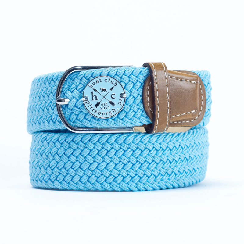 Hunt Club 'The Derby Belt' Limited Edition in Devon w/ Blue Emblem