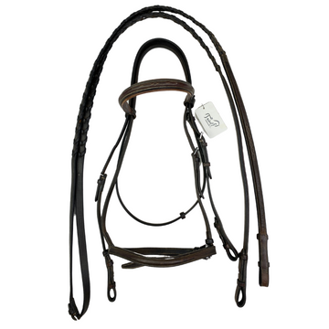 Americana Bridle in Brown - Horse Size