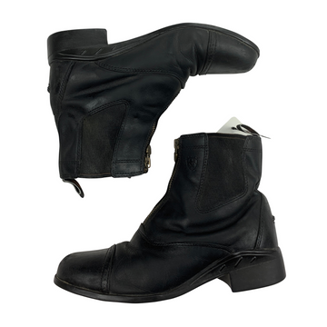 Side of Ariat Devon II Paddock Boots in Black