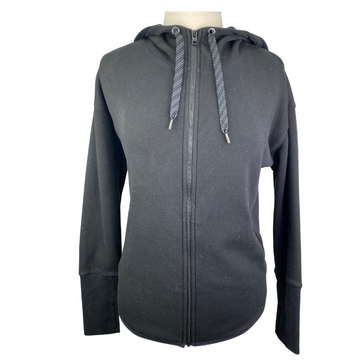 Athleta Full Zip Jacket in Black - Women's Medium