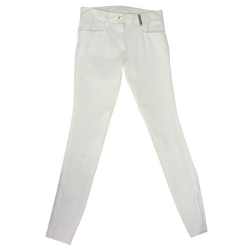 Dada Sport Giovanni Breeches in White