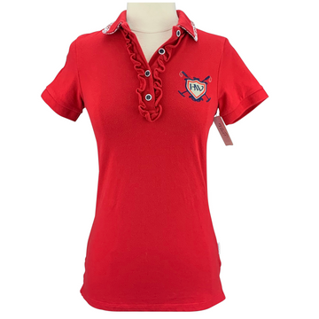 Horseware Polo in Red