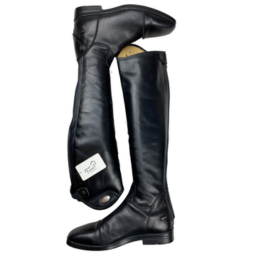 Side of Parlanti Denver Tall Boot in Black