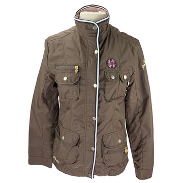 Spooks Riding Jacket in Brown