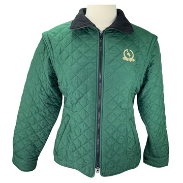 Ridgewood High Point Jacket w/ Removable Sleeves in Green