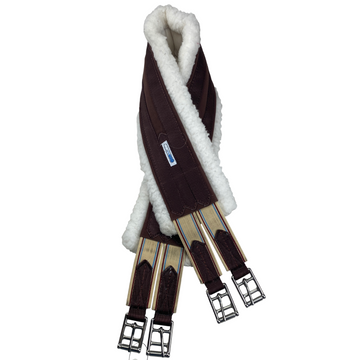 Lettia Fleece CoolMax Girth in Brown - 44