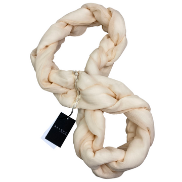 Reigns 'The Waldorf' Scarf in Nude - One Size
