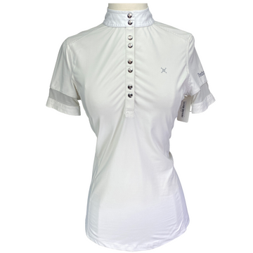 Tredstep Solo Competition Shirt in Off-White - Women's Small