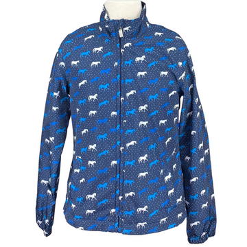 Ariat Insulated Jacket in Blue/Horse Design