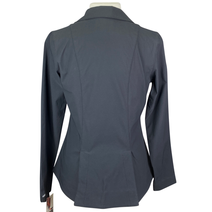 Back of Kerrits Competitors Koat Show Coat Jacket in Black - Women's Medium