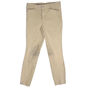 Ariat Heritage Knee Patch Breeches in Tan