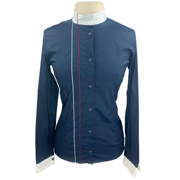 Cavalleria Toscana Competition Shirt in Navy