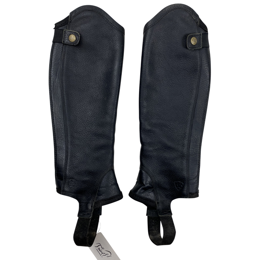 Ariat Concord Half Chaps in Black