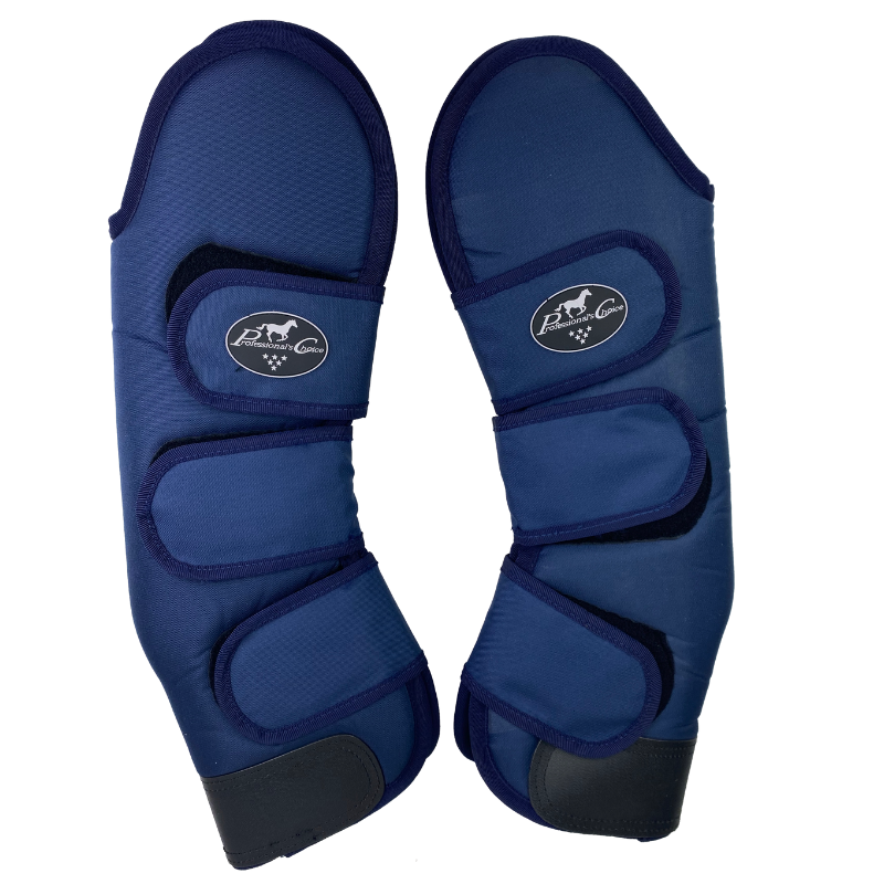 Professional's Choice Shipping Boots in Blue - Horse Size