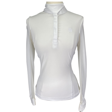 Romfh Chill Factor Show Shirt in White - Women's XS