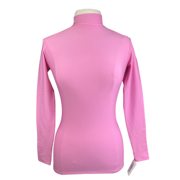 Under Armour Authentic Mock Neck in Pink - Women's Medium