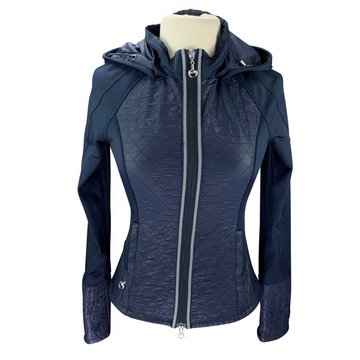 Goode Rider Athletic Jacket in Navy