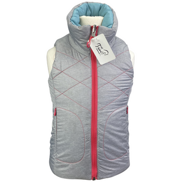 Horseware Reversible Vest in Grey/Blue