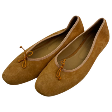 Katharine Page Ballet Flats in Golden