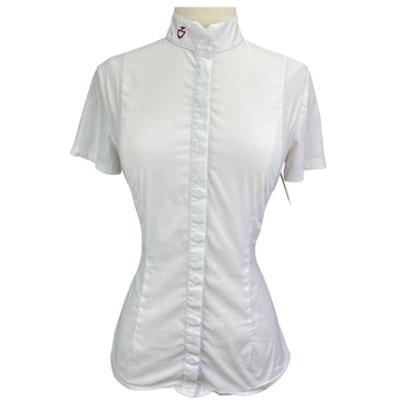 Cavalleria Toscana Competition Shirt in White - Women's Medium