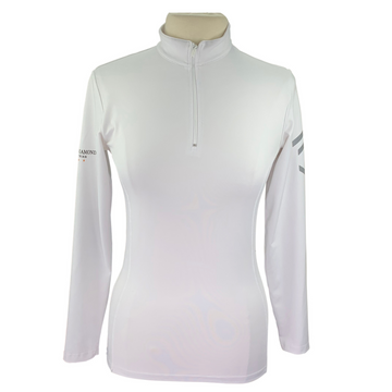 Aztec Diamond Technical Stretch Base Layer in White