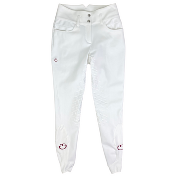 Cavalleria Toscana Line System Full Grip Breeches in White