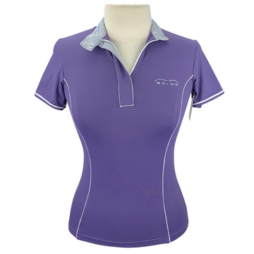 Animo Short Sleeve Shirt in Purple