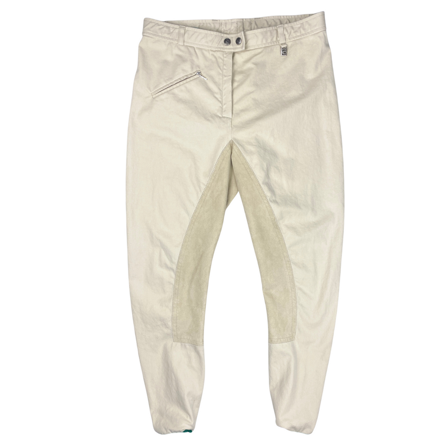 Front of Cavallo Champion Full Seat Breeches in Tan.