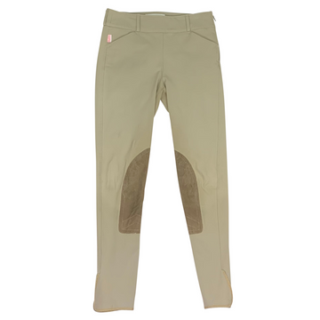 Tailored Sportsman Trophy Hunter Side Zip Breeches in Tan