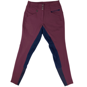 Romfh Isabella Full Seat Breech in Wine - Women's 26R