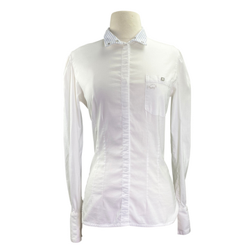 Winston Equestrian Show Shirt in White