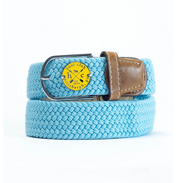 Hunt Club 'The Derby Belt' Limited Edition in Devon w/ Yellow Emblem