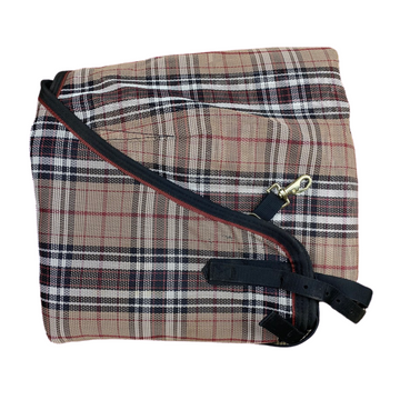 Kensington Traditional Cut Protective Fly Sheet in Black Plaid