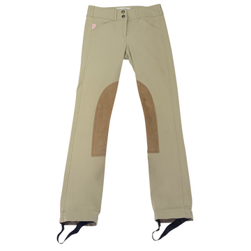 Tailored Sportsman Front Zip Trophy Hunter Jodhpurs in Tan