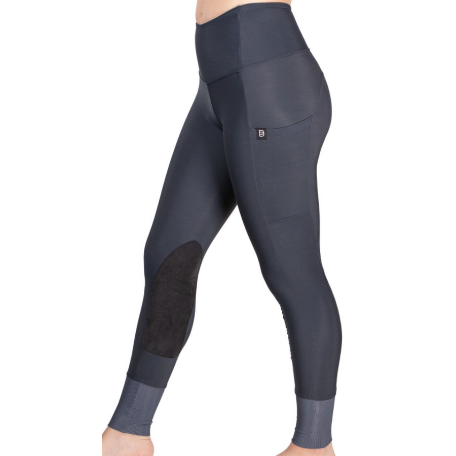 Botori 'G4 Fleece' Tights in Slate - Women's Small