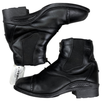 Ariat Devon Pro VX Paddock Boots in Black - Women's 8.5