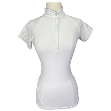 Horseware Sara Competition Shirt in White - Women's XS