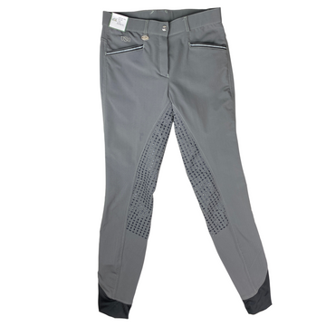 USG Ava Full Seat Breeches in Grey - Women's 26L