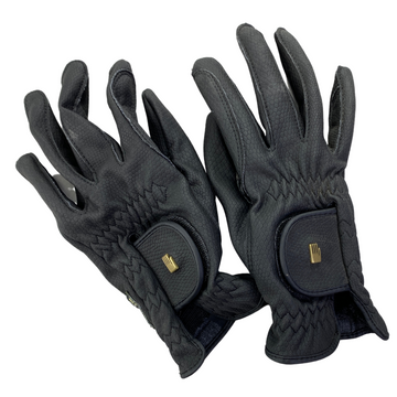Top of Roeckl Roeck-Grip Gloves in Black