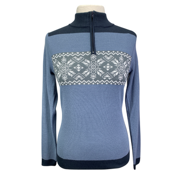 B Vertigo 'Lisbeth' Sweater in French Blue - Women's XS/S