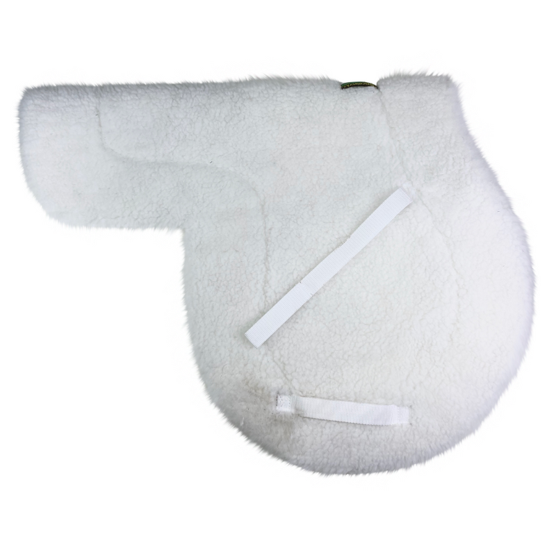 Fleeceworks Bamboo Classic Hunter Pad in White.