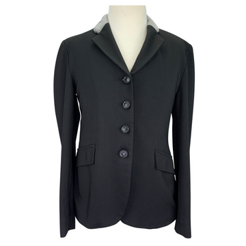 Grand Prix Extreme Stretch Show Coat in Black